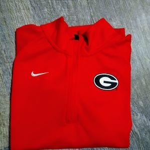 Boys Nike University of Georgia Dri-Fit shirt